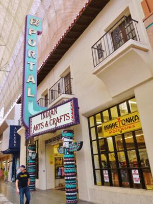 Downtown Las Vegas on a Las Vegas Pop Culture Tour
