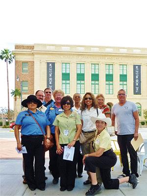 Another happy group on a Las Vegas Pop Culture Tour